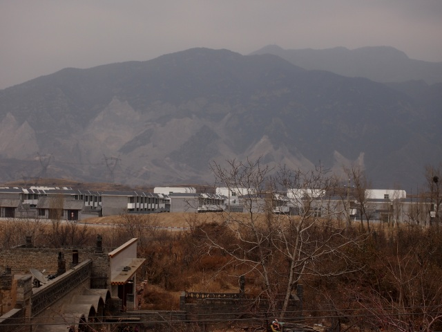 the new Zhangbi village