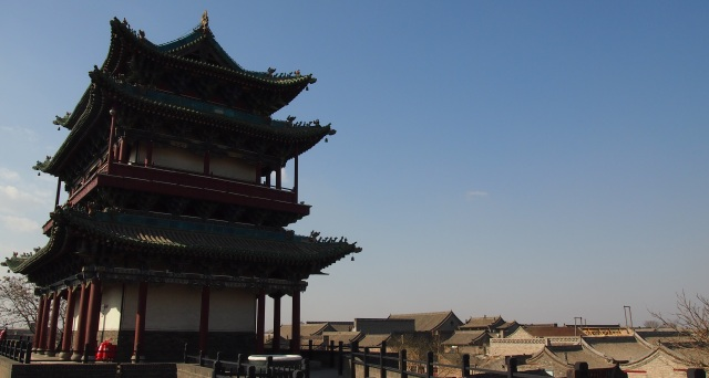 standing watch over Pingyao